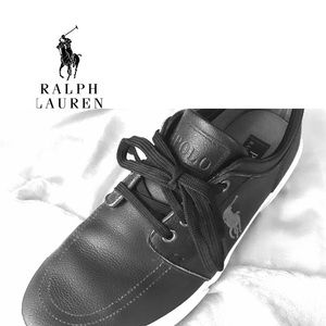NYOP! Polo by Ralph Loren leather/rawhide sneakers